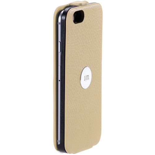 Just Mobile Beige SpinCase with White Screen Protector Kit for iPhone 6/6s