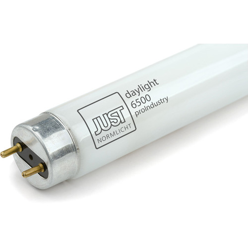 "Just Normlicht JUST Daylight 6500 ProIndustry Fluorescent Lamp (1 x 18W, 6500K, 24"")"