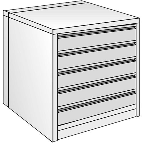 "Just Normlicht System Cabinet 0B 15/9 (19.7 x 27.6"")"