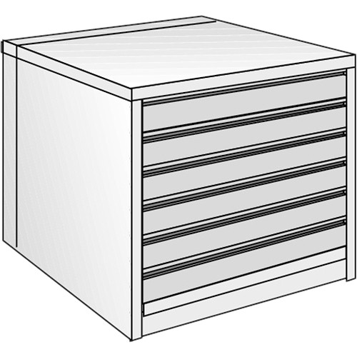 "Just Normlicht System Cabinet 0B 12/9 (19.7 x 27.6"")"