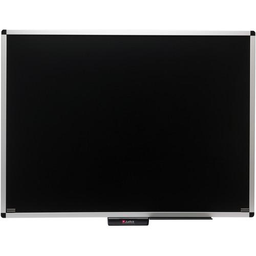 "Justick Overlay Premium Frame Dry Erase Board (48 x 36"", Black)"