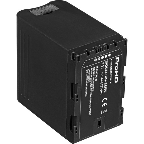 JVC 7.2V Battery for DT-X Monitors and GY-LS300/HM200/HM600/HM650 Cameras