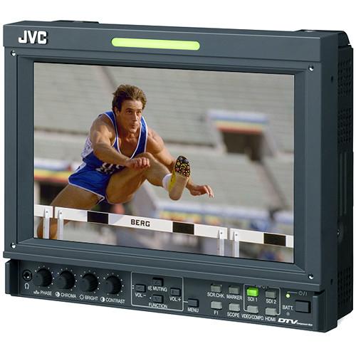 """JVC DT-F9L5U 8.2"""" Broadcast Studio Monitor"""