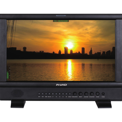 """JVC ProHD 17.3"""" Broadcast Studio LED-Backlit LCD Monitor"""