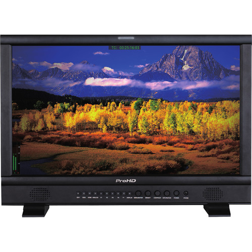 """JVC ProHD 21.5"""" Broadcast Studio LED-Backlit LCD Monitor"""
