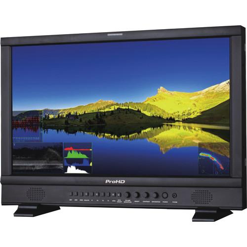 "JVC DT-N24F ProHD 23.8"" Broadcast Studio LCD Monitor"