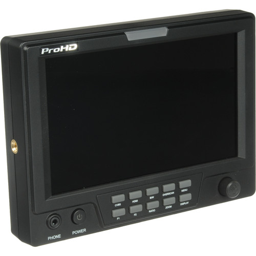 "JVC DT-X71CI 7"" On-Camera Field Monitor"