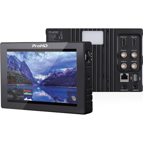 """JVC ProHD 7"""" Full HD LCD Monitor"""