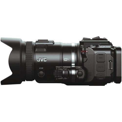 JVC GC-PX100BE Full HD Memory Camcorder (PAL)