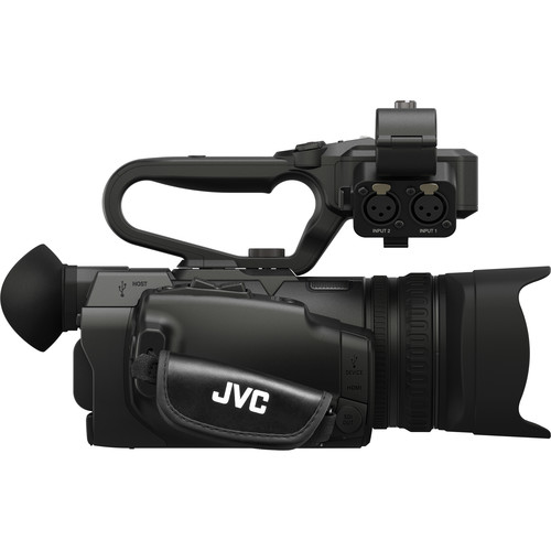 JVC GY-HM250 UHD 4K Streaming Camcorder with Built-in Lower-Thirds Graphics