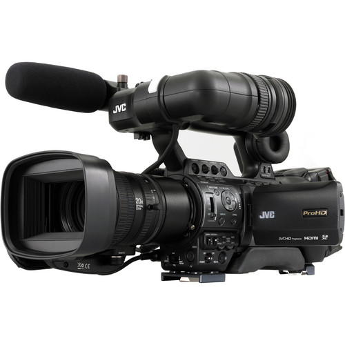 JVC GY-HM890U ProHD Compact Shoulder Mount Camera with Fujinon 20x Lens
