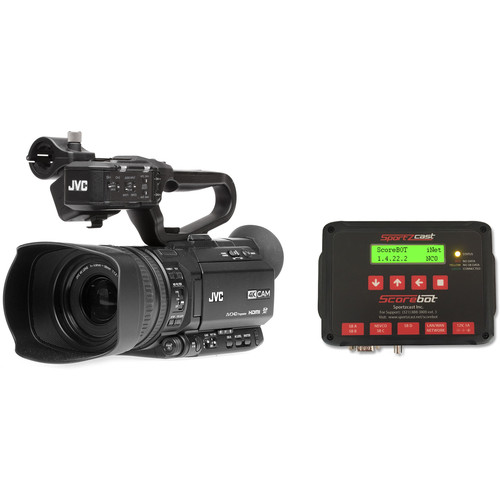JVC GYHM200SP Camcorder and Scorebot Interface Package