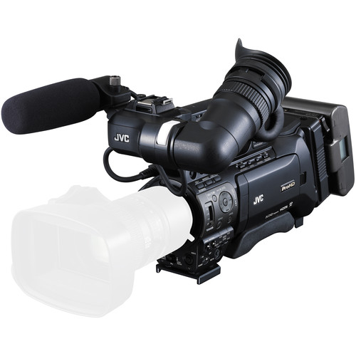 JVC GY-HM850 ProHD Shoulder Mount Camcorder with Fujinon XT17sx45BRMK1 Lens