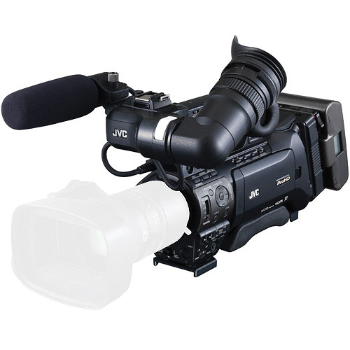 JVC GY-HM890 ProHD Shoulder Mount Camcorder with Fujinon XT17sx45BRMK1 Lens