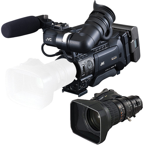 JVC ProHD Camcorder/XT20SX47BRM ENG Lens