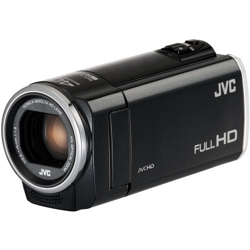 JVC Everio GZ-E100BE Full HD Camcorder (PAL, Black)