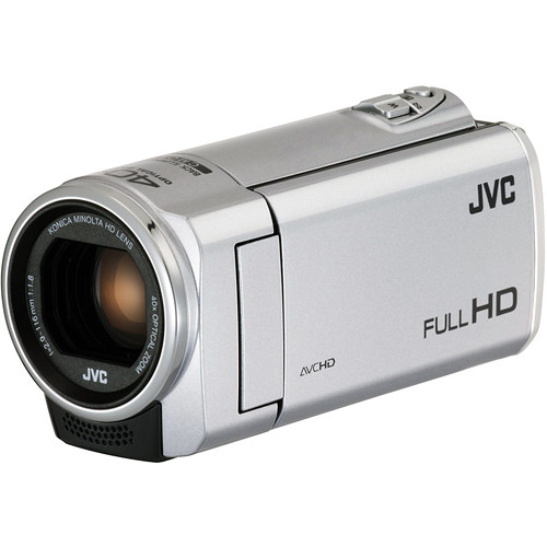 JVC Everio GZ-E100SE Full HD Camcorder (Pal, Silver)