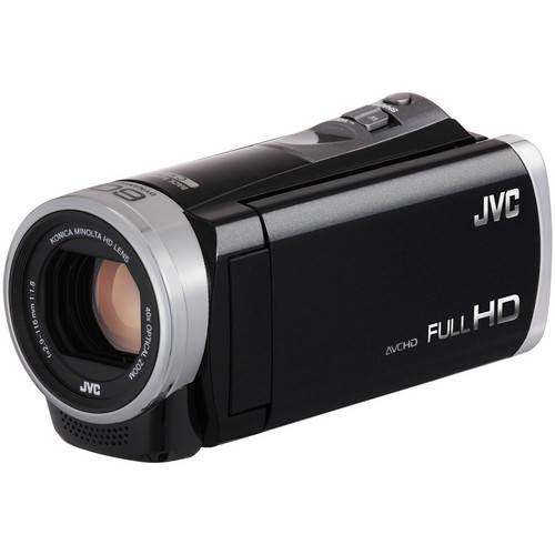 JVC Everio GZ-E300BE Full HD Camcorder (PAL, Black)