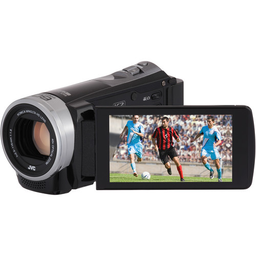 JVC Everio GZ-E305BE Full HD Camcorder (PAL, Black)