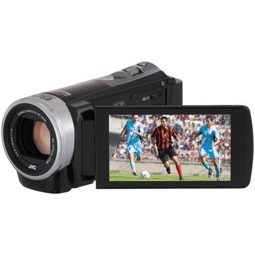 JVC GZ-E306 Full HD Everio Camcorder (Black)