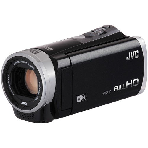 JVC GZ-EX310 Full HD Everio Camcorder (Black)