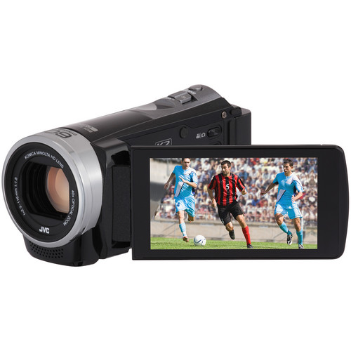 JVC Everio GZ-EX310BE Full HD Camcorder (PAL, Black)