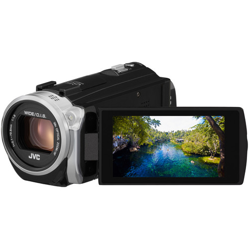 JVC Everio GZ-EX510BE Full HD Camcorder (PAL, Black)