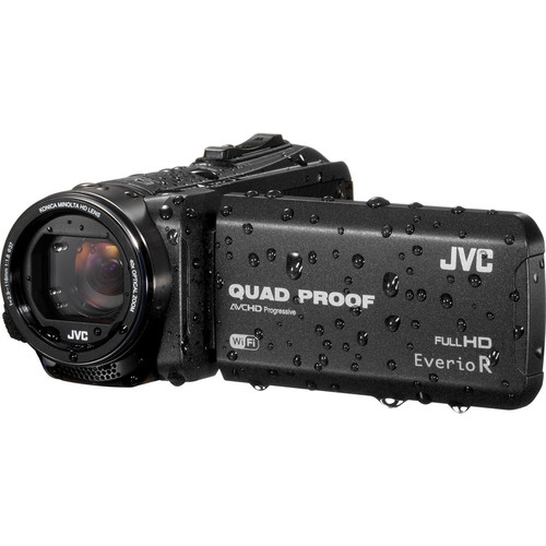 JVC GZ-RX615BE Quad Proof Camcorder (PAL, Black)
