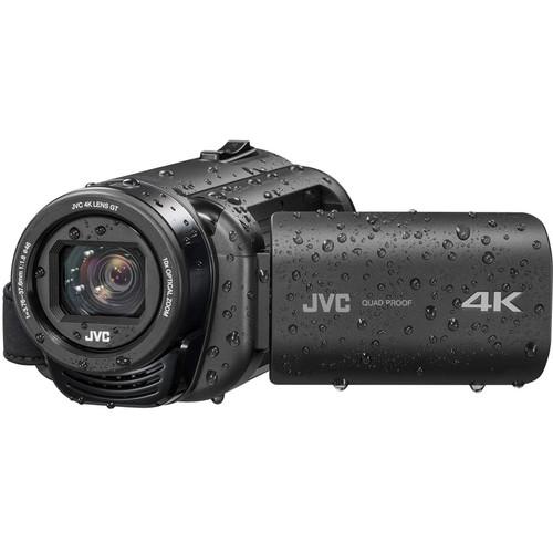 JVC Everio GZ-RY980HEU Quad-Proof 4K Camcorder with 10x Optical Zoom (PAL)