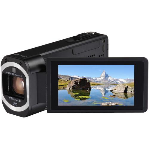 JVC Everio GZ-VX810BE Full HD Camcorder (PAL, Black)