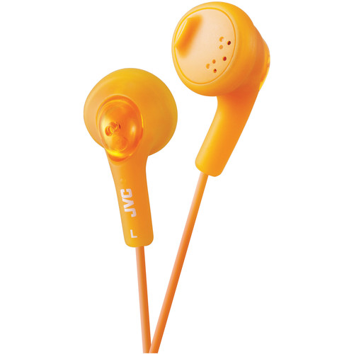 JVC HA-F160 Gumy Earbuds (Orange)