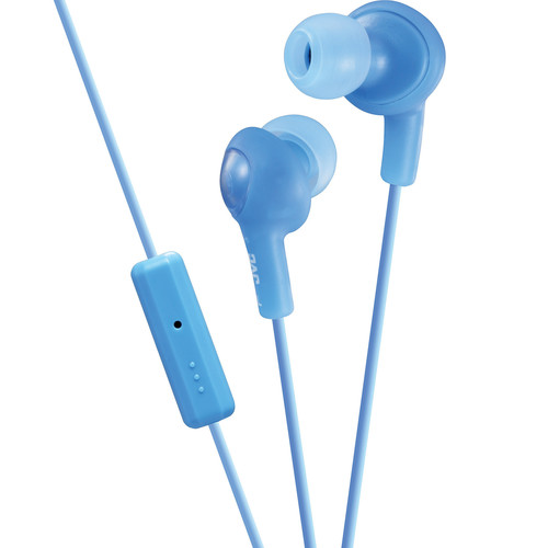 JVC HA-FR6 Gumy Plus Earbuds (Blue)