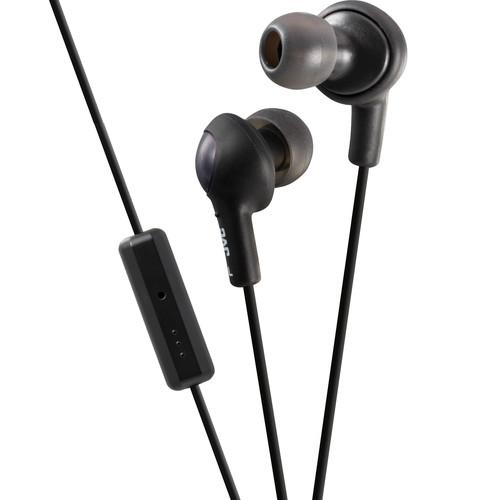 JVC HA-FR6 Gumy Plus Earbuds (Black)