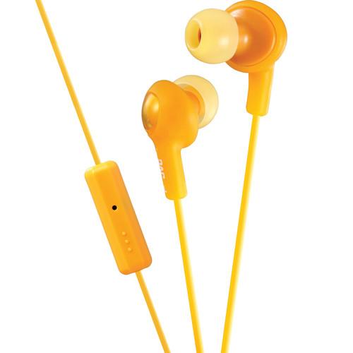 JVC HA-FR6 Gumy Plus Earbuds (Orange)