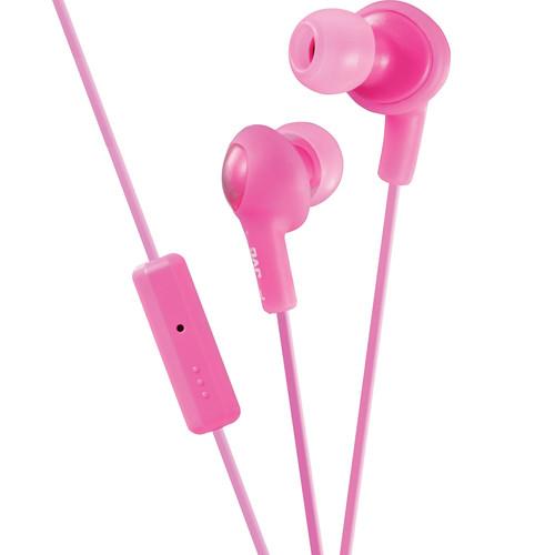 JVC HA-FR6 Gumy Plus Earbuds (Pink)