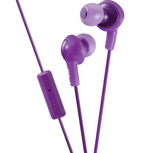 JVC HA-FR6 Gumy Plus Earbuds (Violet)