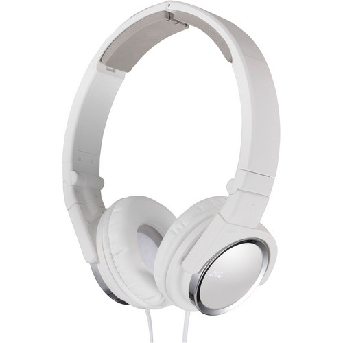 JVC HA-S400-B On-Ear Headphones (White)
