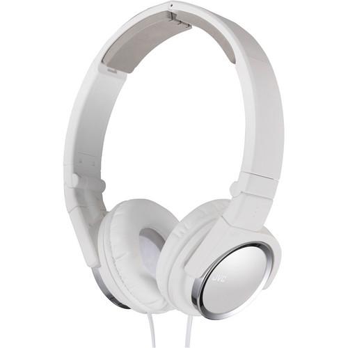 JVC HA-S400-B On-Ear Headphones (White)