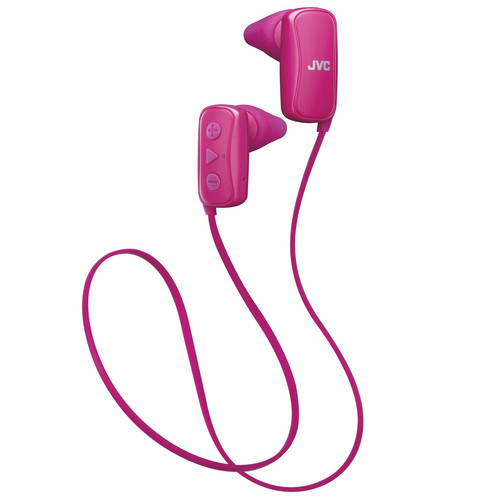JVC Gumy Bluetooth Earbuds (Pink)
