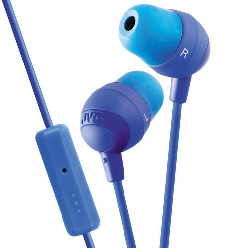 JVC HA-FR37 Marshmallow Inner-Ear Headphones (Blue)