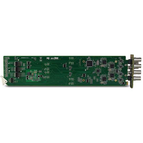 JVC Three-Channel 3G-SDI openGear Transmitter Card