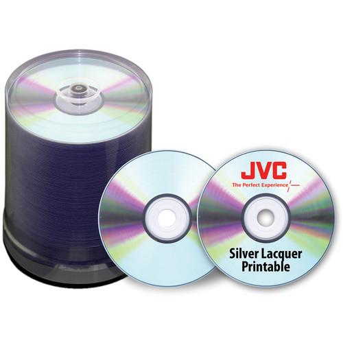 JVC JDPR-ZZ-SK16 DVD-R Media Discs (100-Pack)