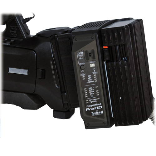 JVC KA-F790NG Camera Mounted Fiber Tranceiver with Neutrik opticalCON Connectors