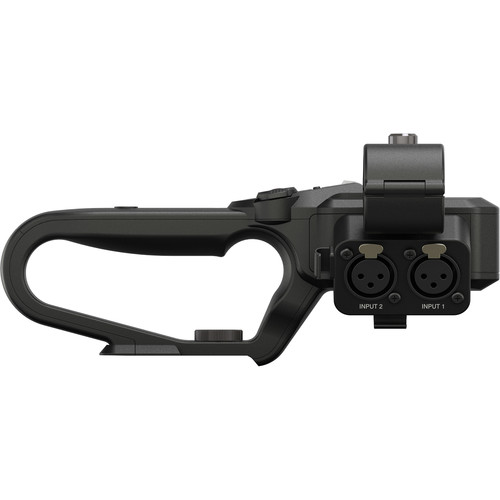 JVC Top Handle Unit with XLR and Audio Control for GY-HM170