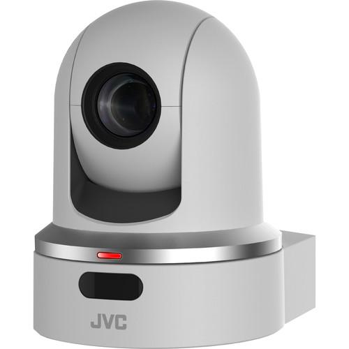 JVC KY-PZ100 Robotic PTZ Network Video Production Camera (White)