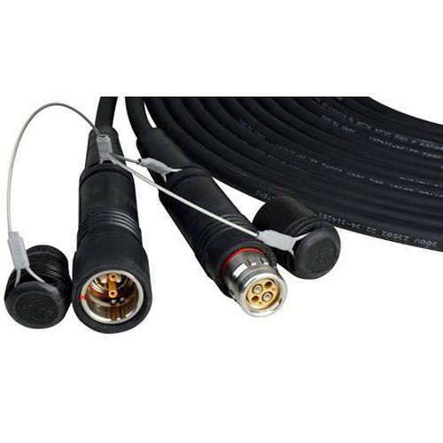 JVC SMPTE Hybrid Fiber Cable with SMPTE-304M Plug (410')