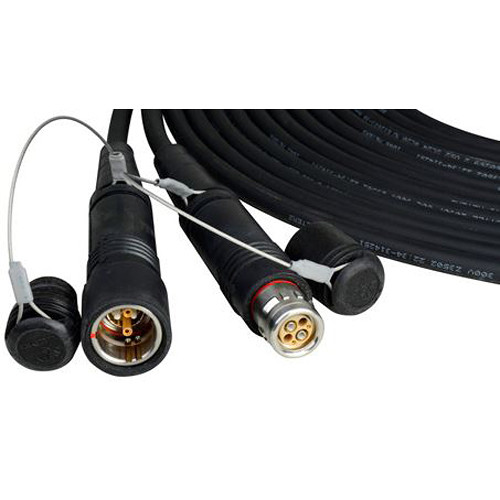 JVC SMPTE Hybrid Fiber Cable with SMPTE-304M Plug (492')