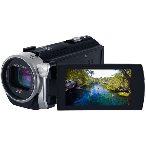 JVC GZ-EX515BEK Full HD Everio Camcorder (PAL)