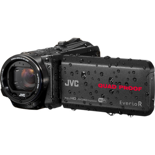 JVC GZ-RX-640BE Quad-Proof HD Camcorder with 40x Optical Zoom (PAL)