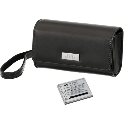 JVC VU-VG7K Starter Kit with Carrying Case and 3.7V Battery for V/VX Series Camcorders